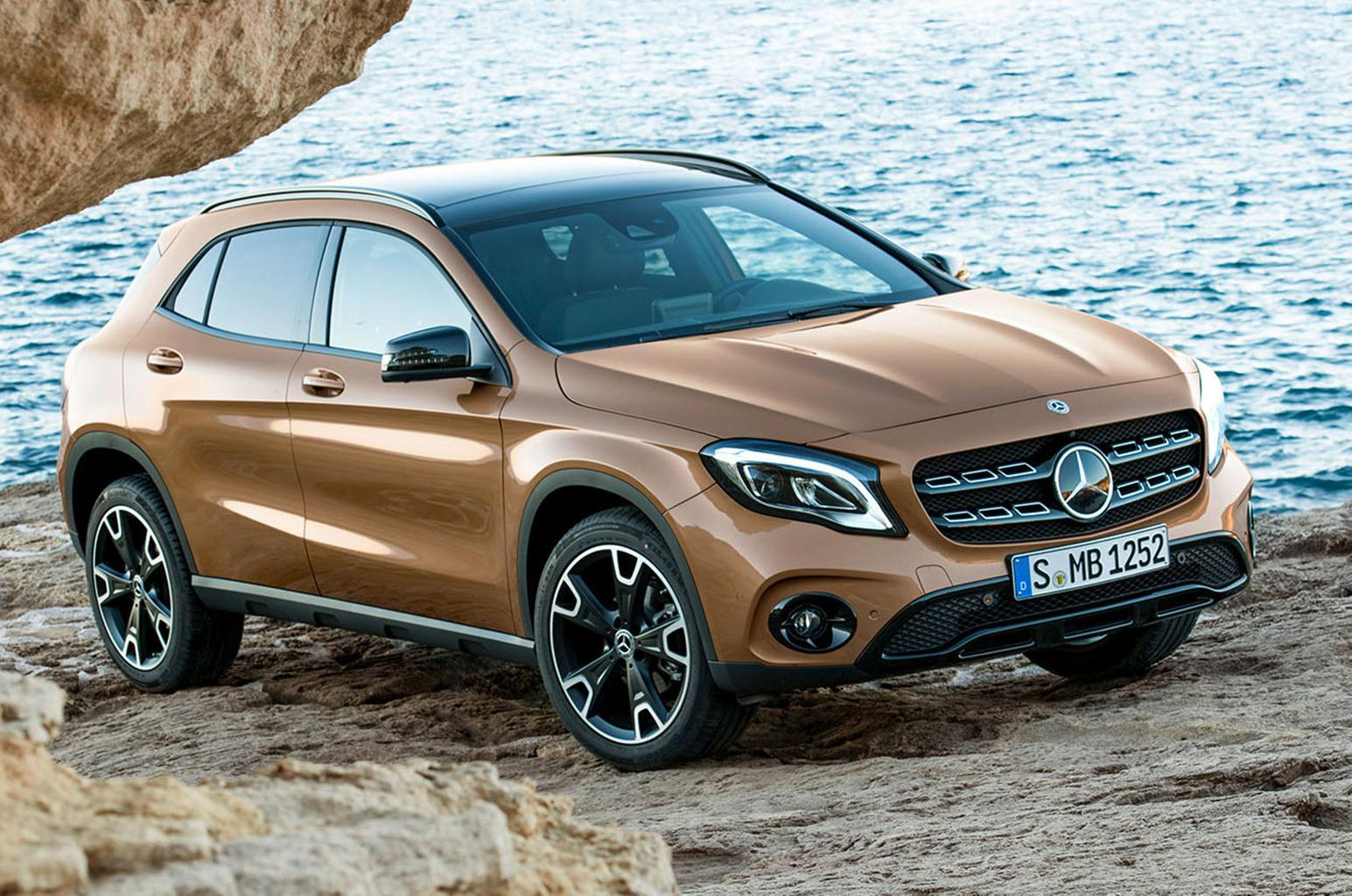 Facelifted Mercedes GLA to go on sale in April