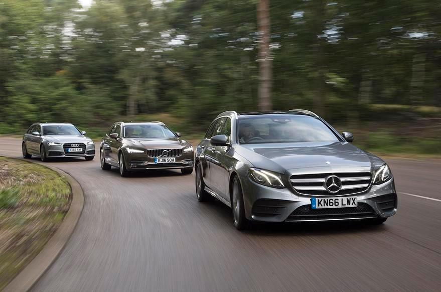 Audi A6 Avant vs Mercedes E-Class Estate vs Volvo V90