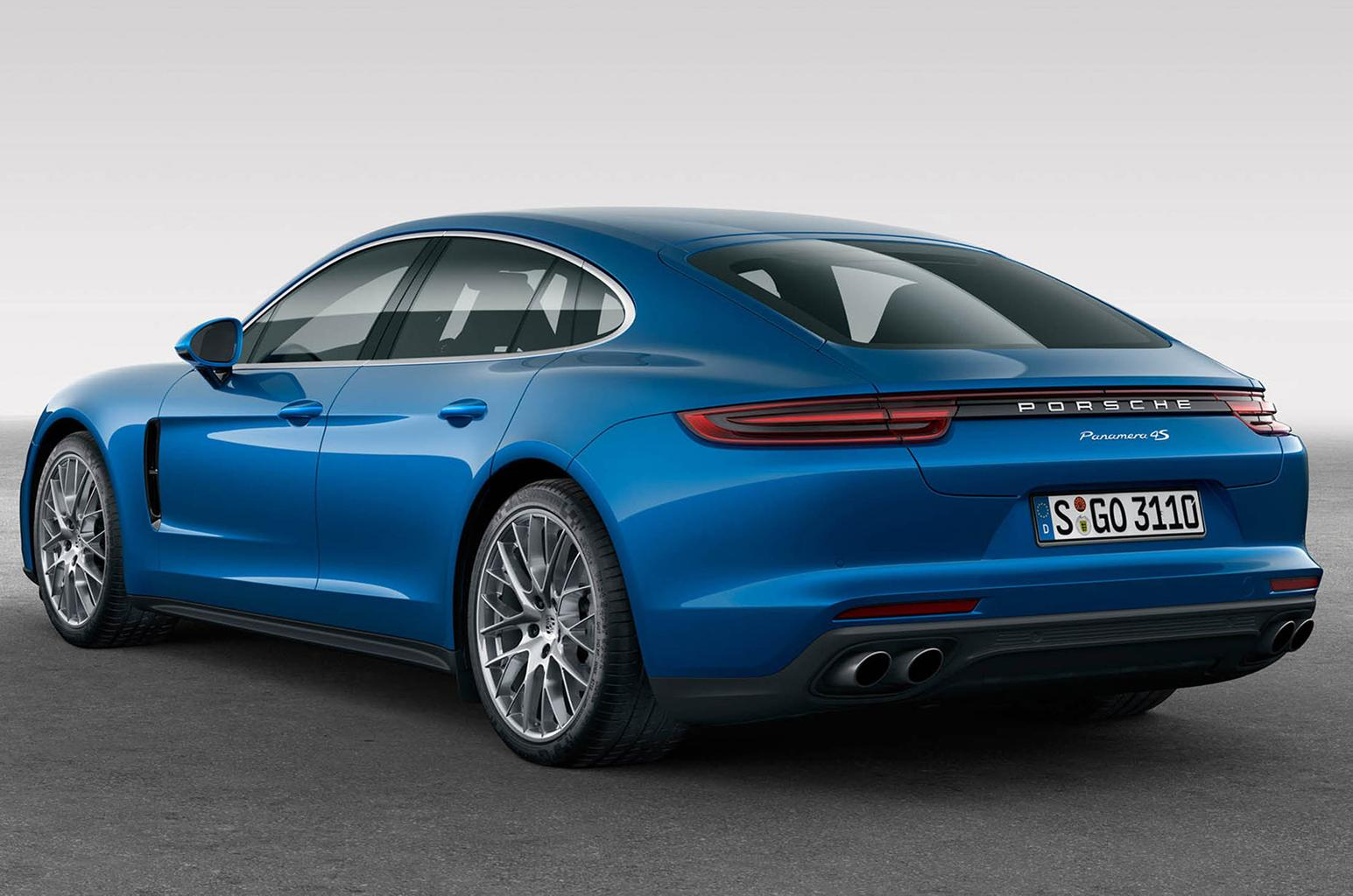 New Porsche Panamera - entry level models added