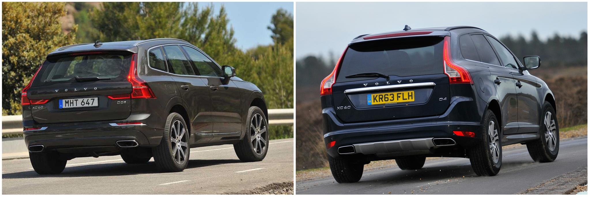 Volvo XC60: new vs old compared