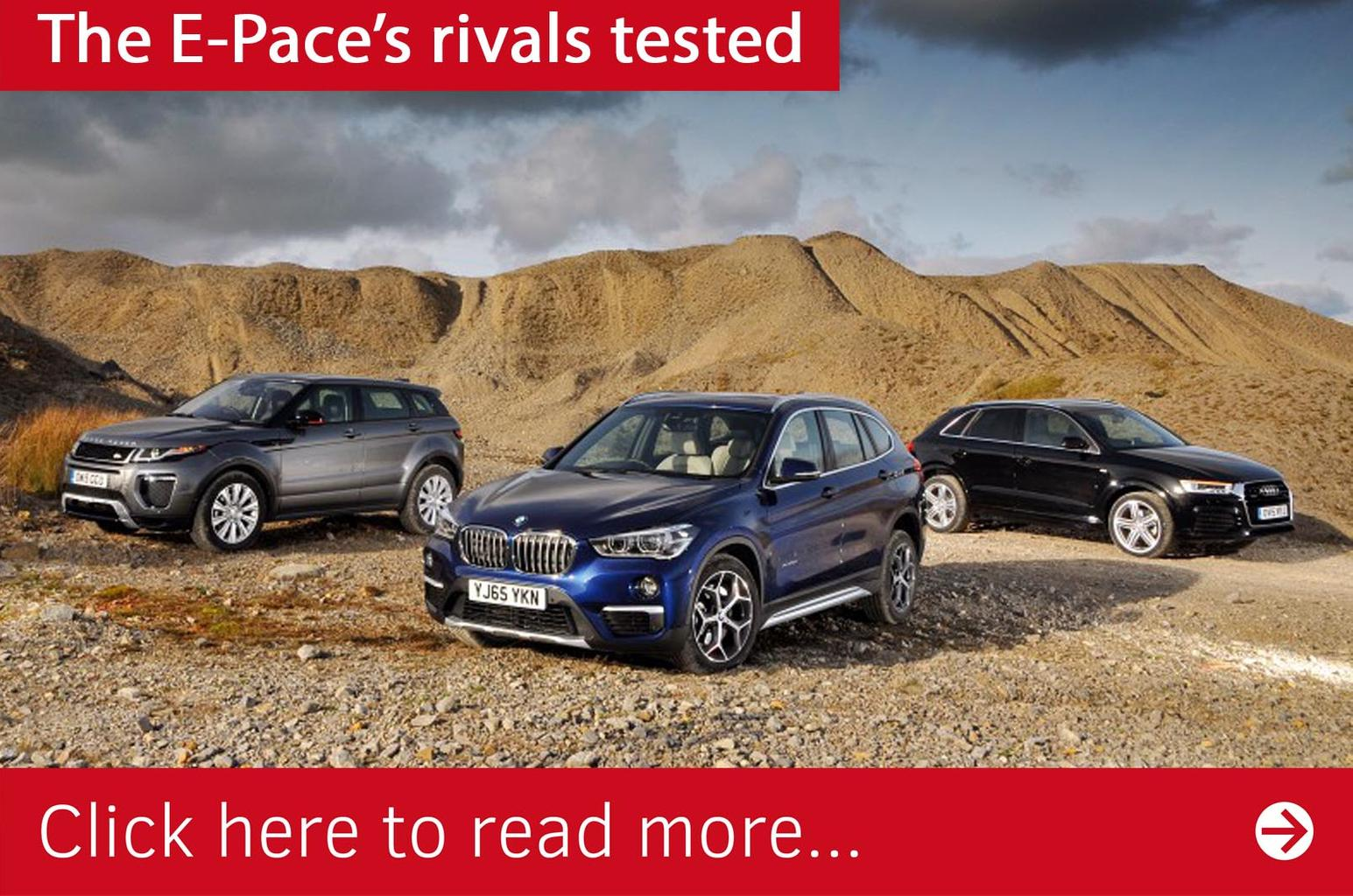 2018 Jaguar E-Pace buyer's file