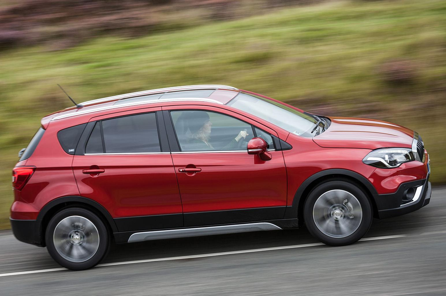 Facelifted Suzuki SX4 S-Cross revealed