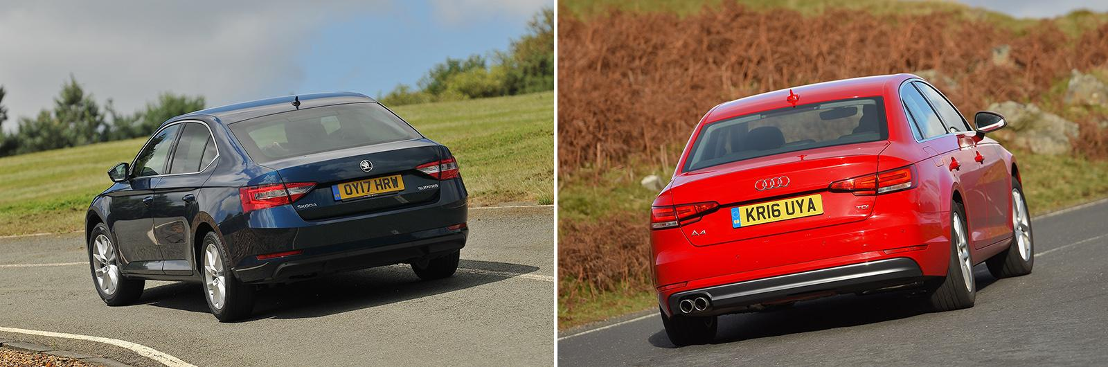 New Skoda Superb vs used Audi A4: which is best?