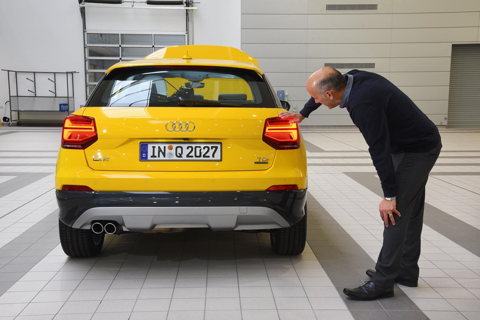 2017 Audi Q2 - reader test team review