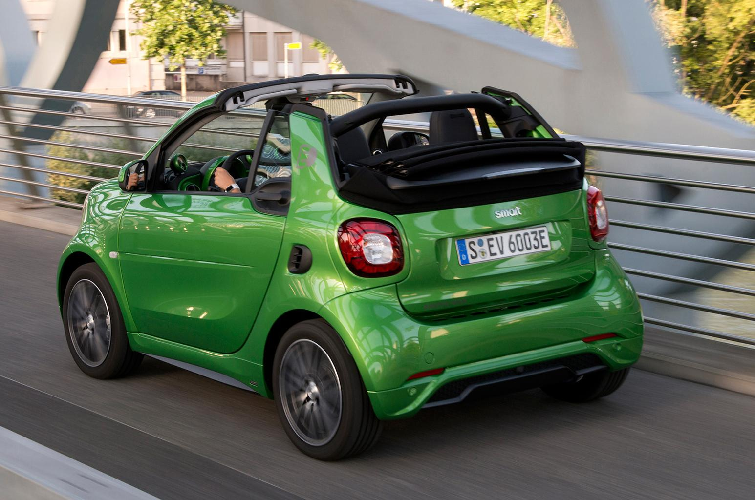 2017 Smart Fortwo Cabrio Electric Drive review – price, specs and release date