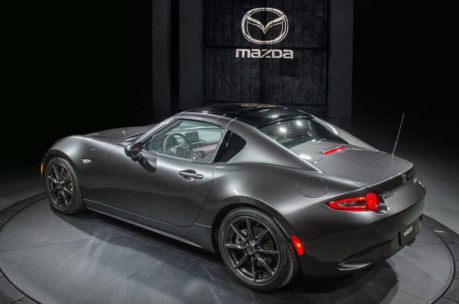 New Mazda MX-5 RF priced from £22,195