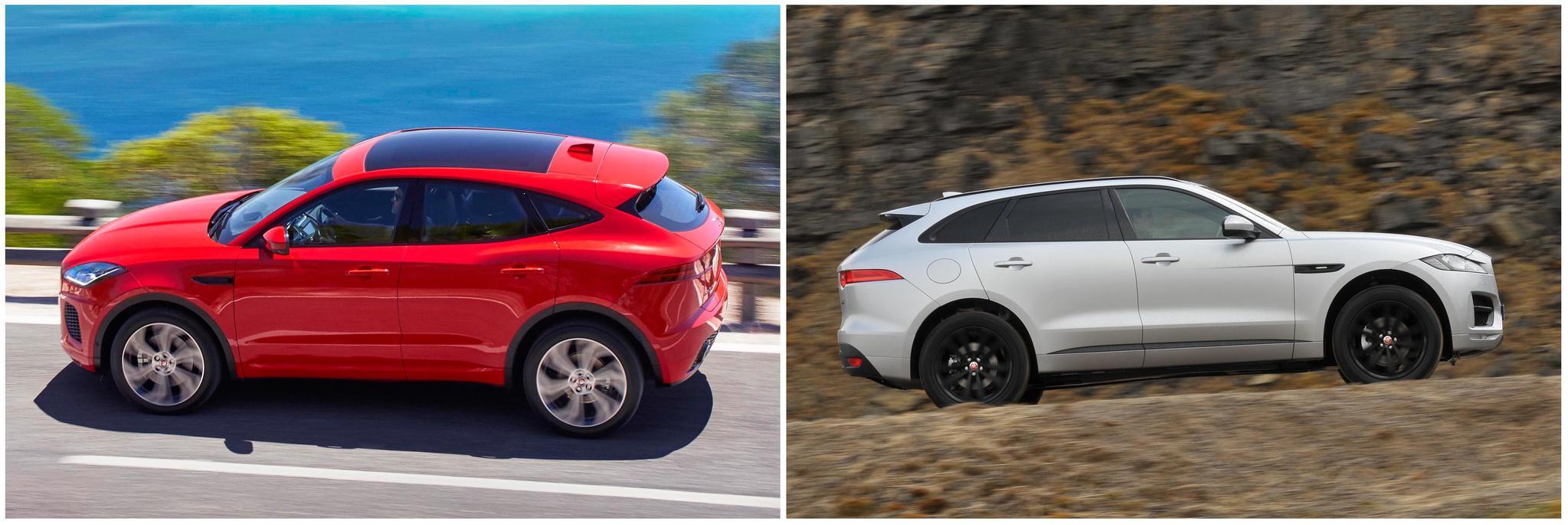 New Jaguar E-Pace vs Jaguar F-Pace