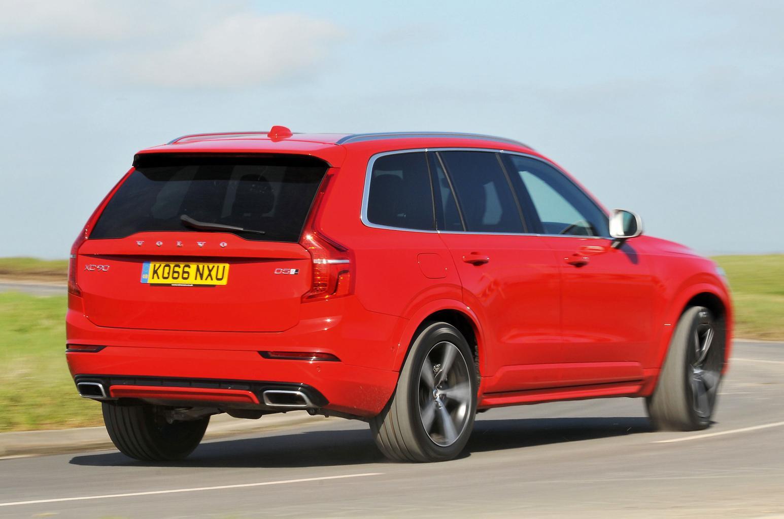 New Land Rover Discovery vs Audi Q7 vs Volvo XC90