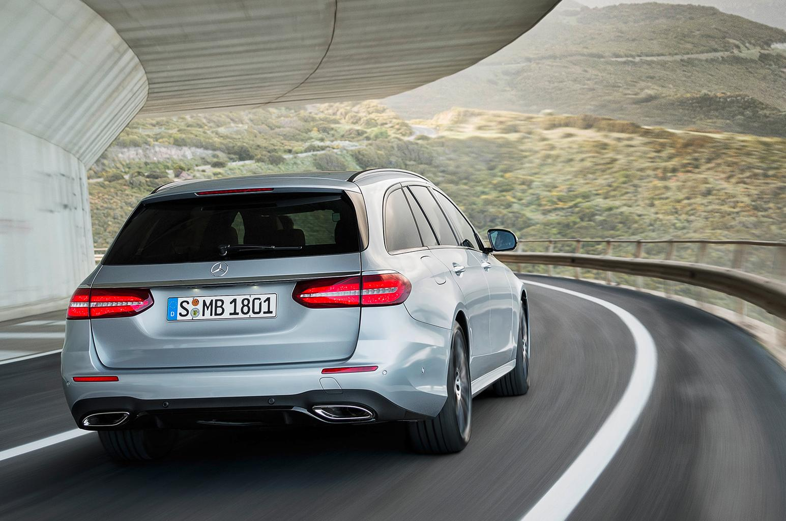 New Mercedes-Benz E-Class Estate priced from £37,935
