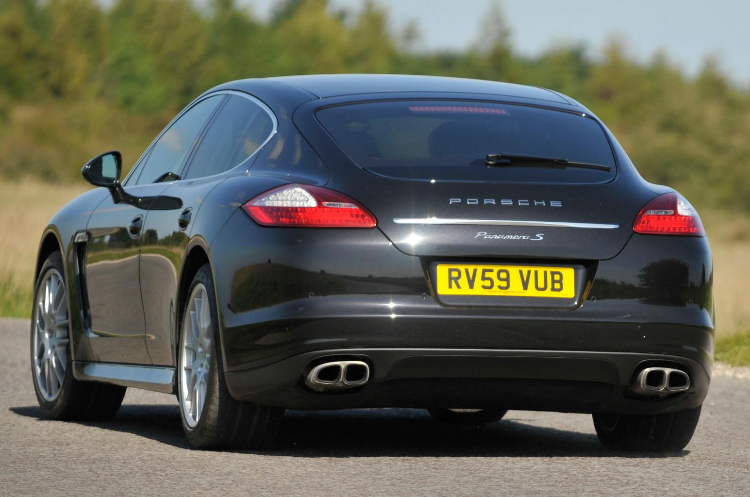 Used test: Porsche Panamera vs Jaguar XFR
