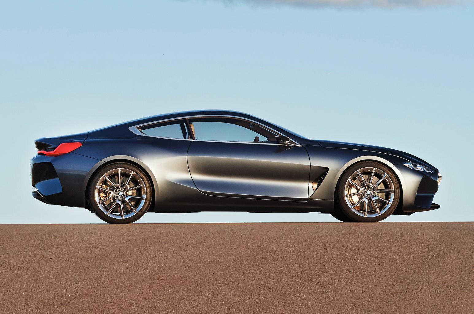 BMW 8 Series coupé revealed