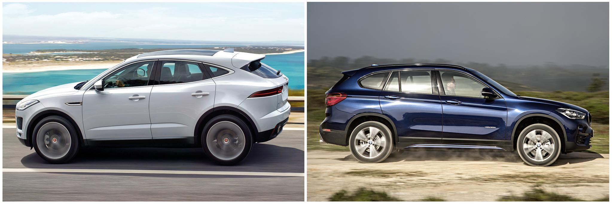 New Jaguar E-Pace vs BMW X1