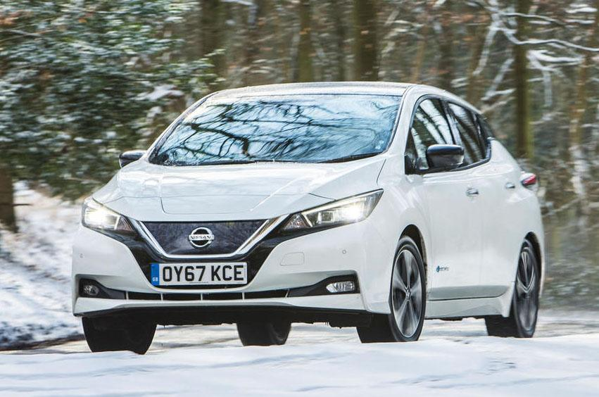 New Nissan Leaf earns five-star Euro NCAP safety rating