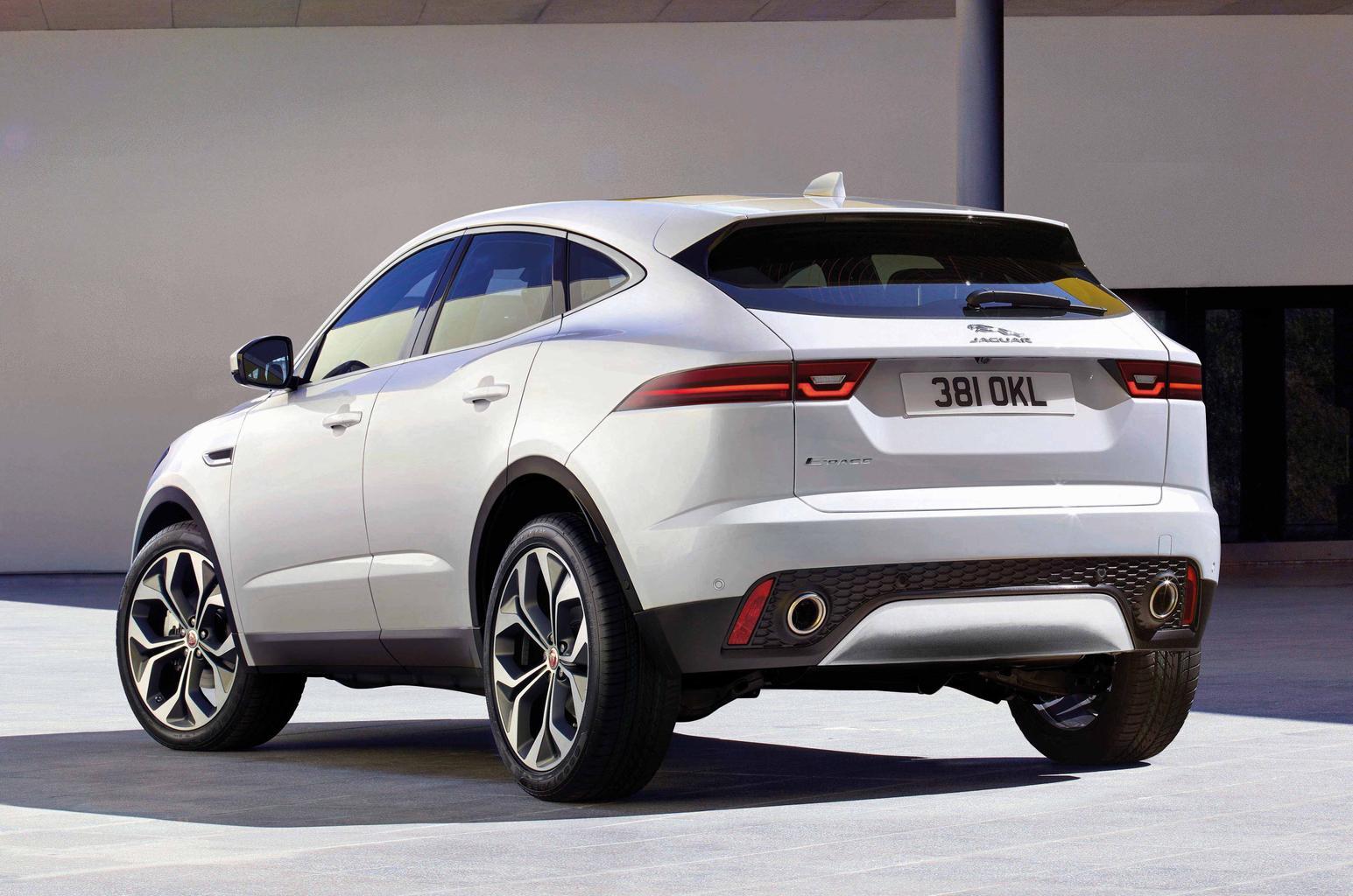 2018 Jaguar E-Pace SUV gallery