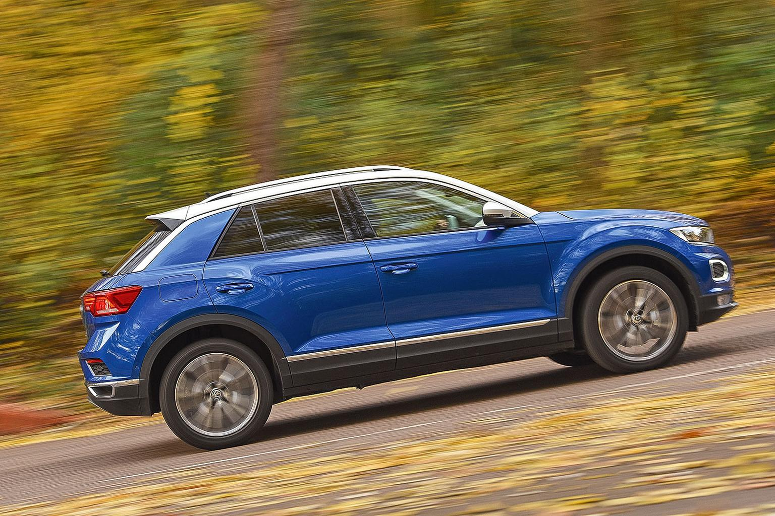 New Volkswagen T-Roc vs Audi Q2 vs Mini Countryman