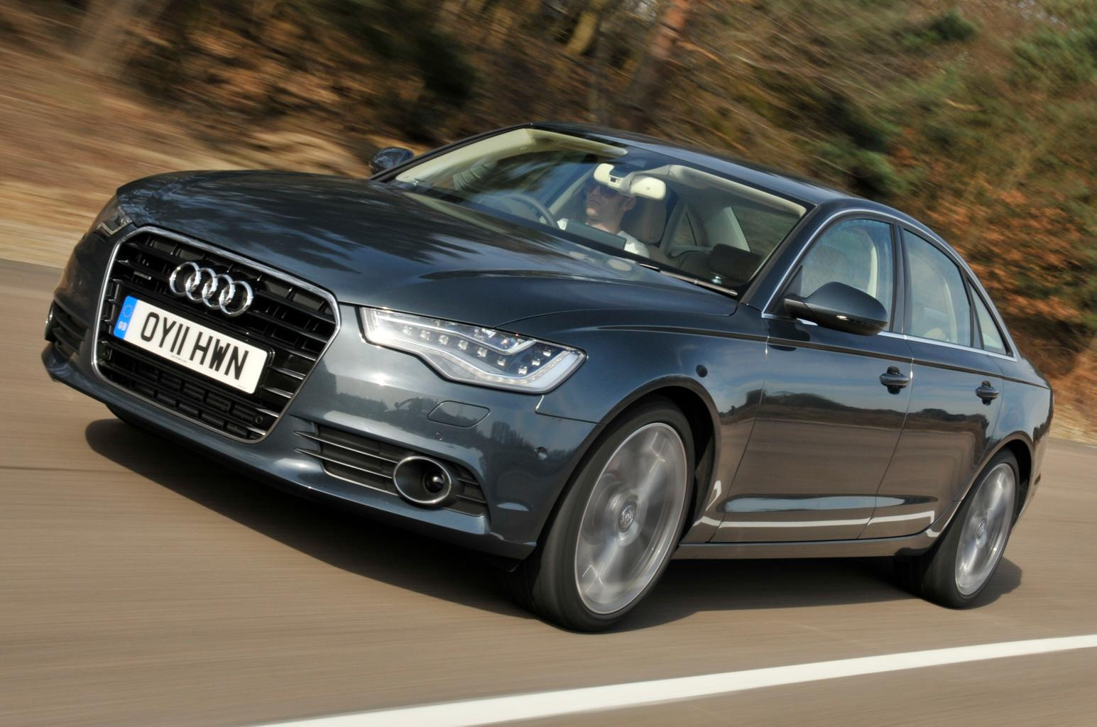 Used test: BMW 5 Series vs Audi A6 vs Mercedes E-Class vs Jaguar XF