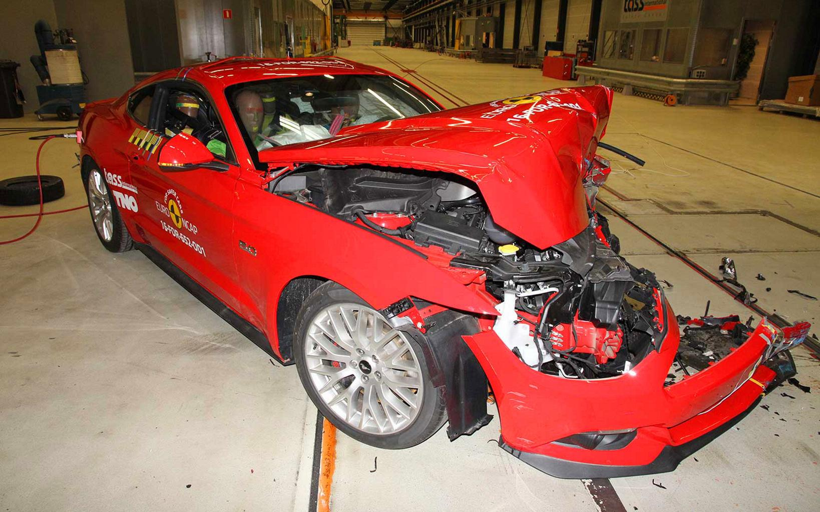 Ford Mustang given disappointing two-star safety rating by Euro NCAP