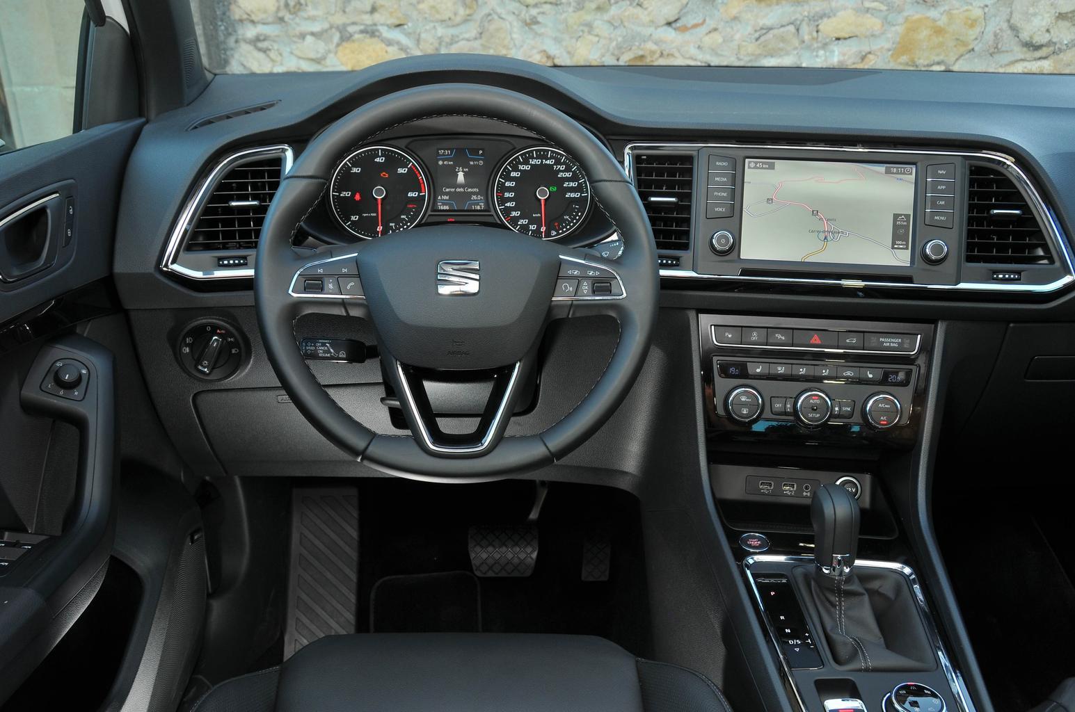 2016 Seat Ateca 2.0 TDI 150 review