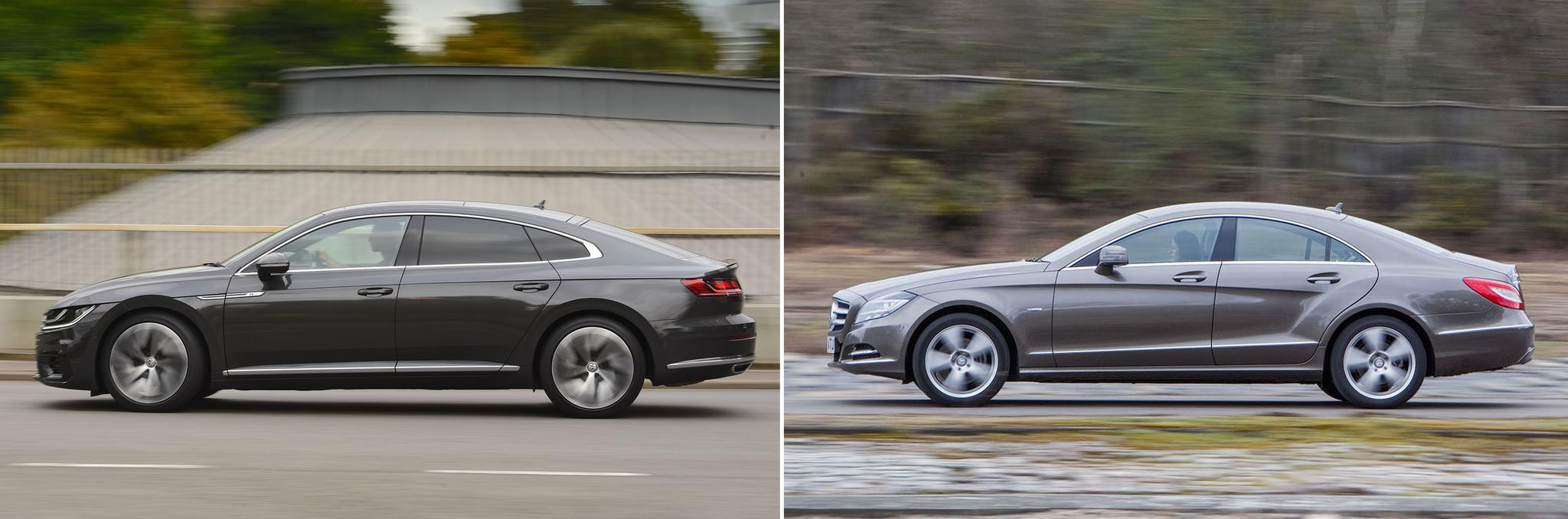 New Volkswagen Arteon vs used Mercedes-Benz CLS: which is best?