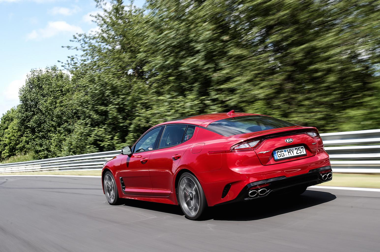 2017 Kia Stinger GT review - price, specs and release date