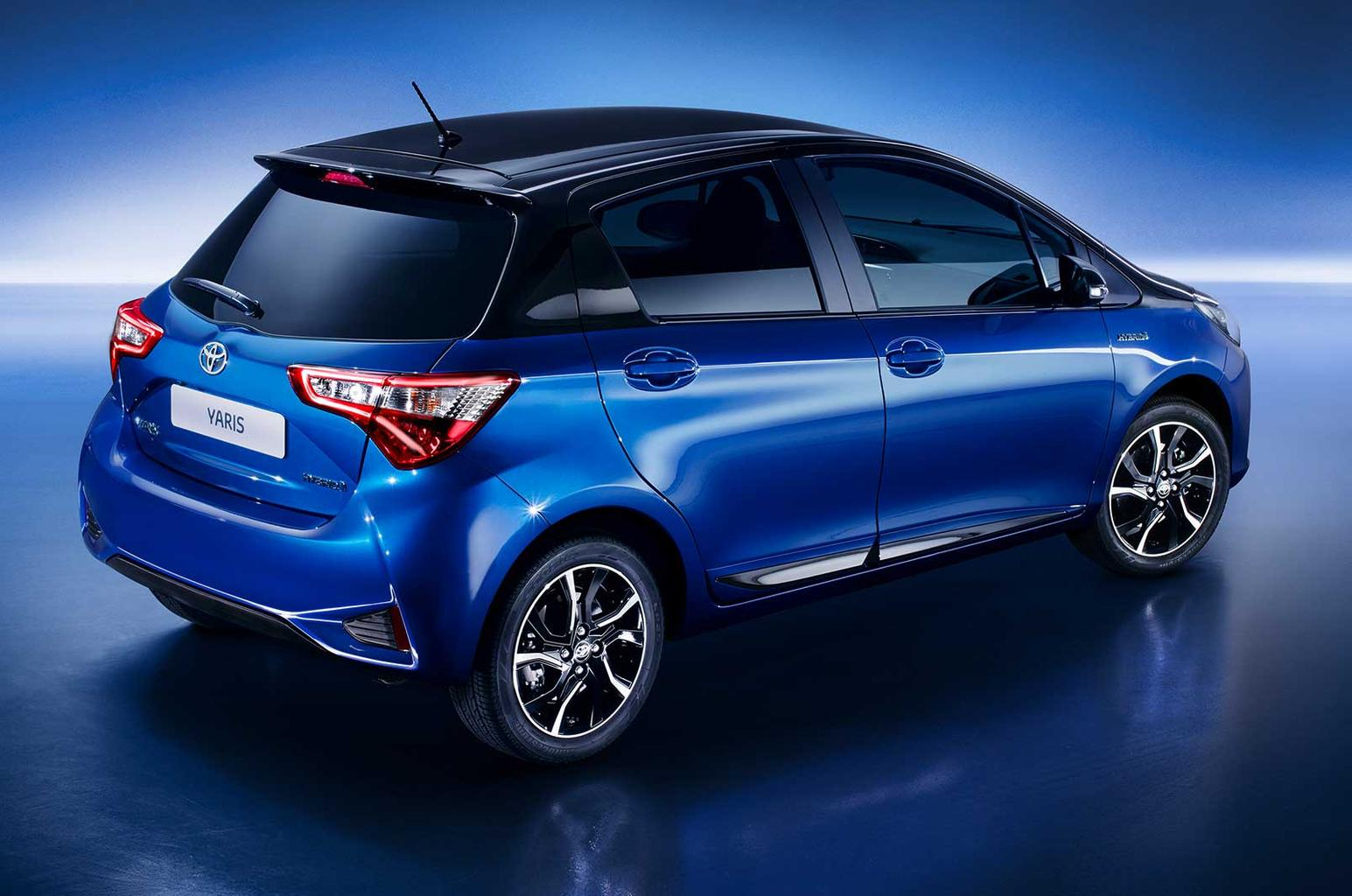 2017 Toyota Yaris priced from £12,495