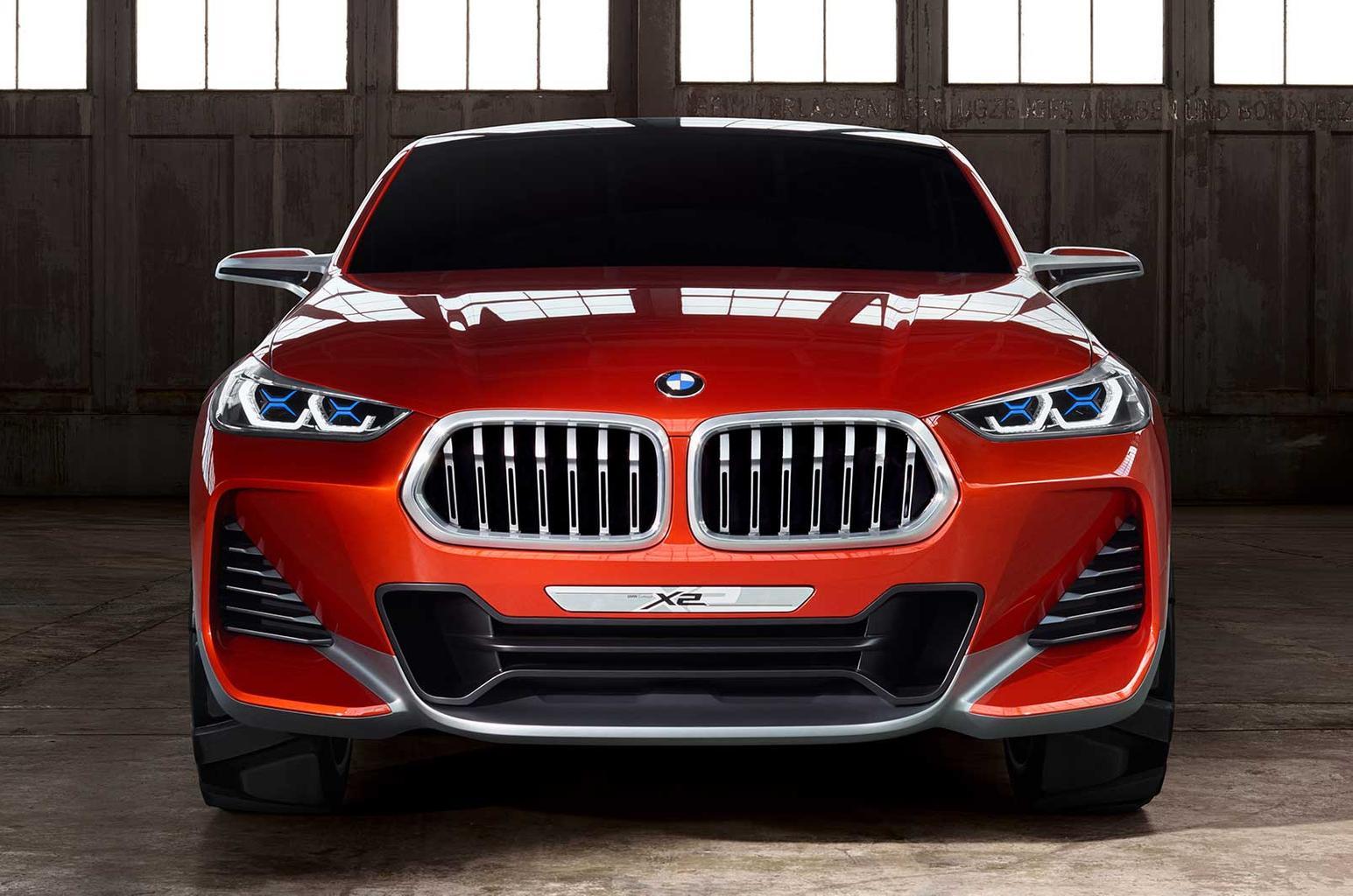 BMW X2 concept revealed