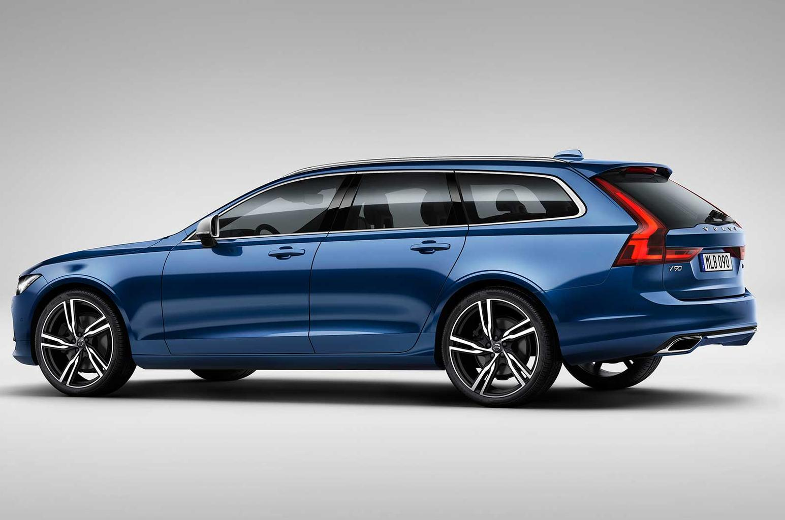 New Volvo S90 and V90 R-Design models revealed