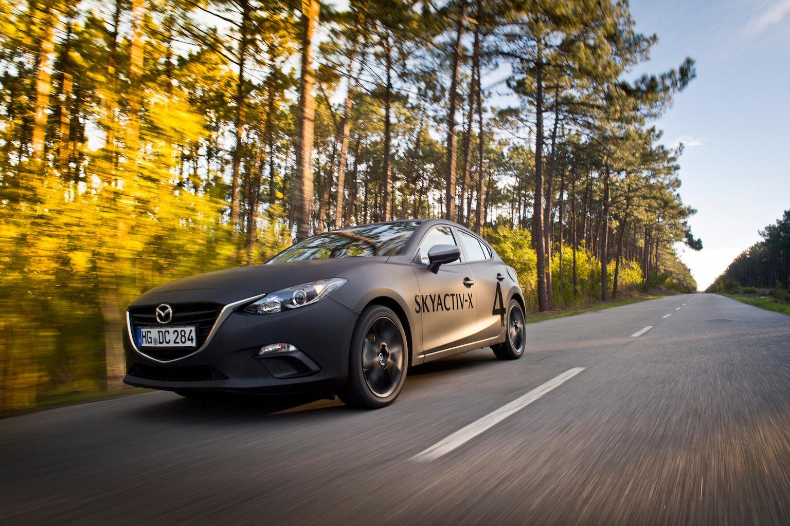2018 Mazda 3 Skyactiv-X prototype review