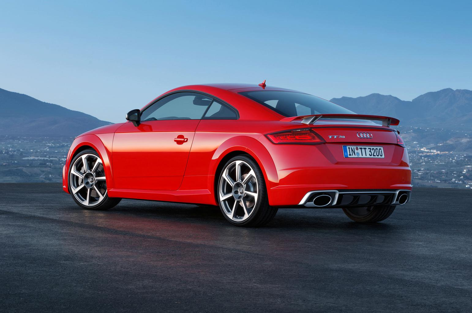 New Audi TT RS unveiled
