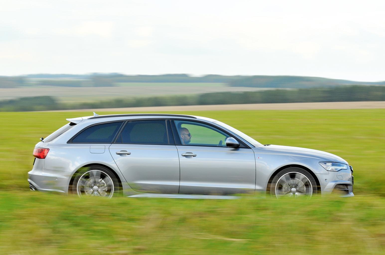 New Mercedes E-Class Estate and Volvo V90 vs Audi A6 Avant