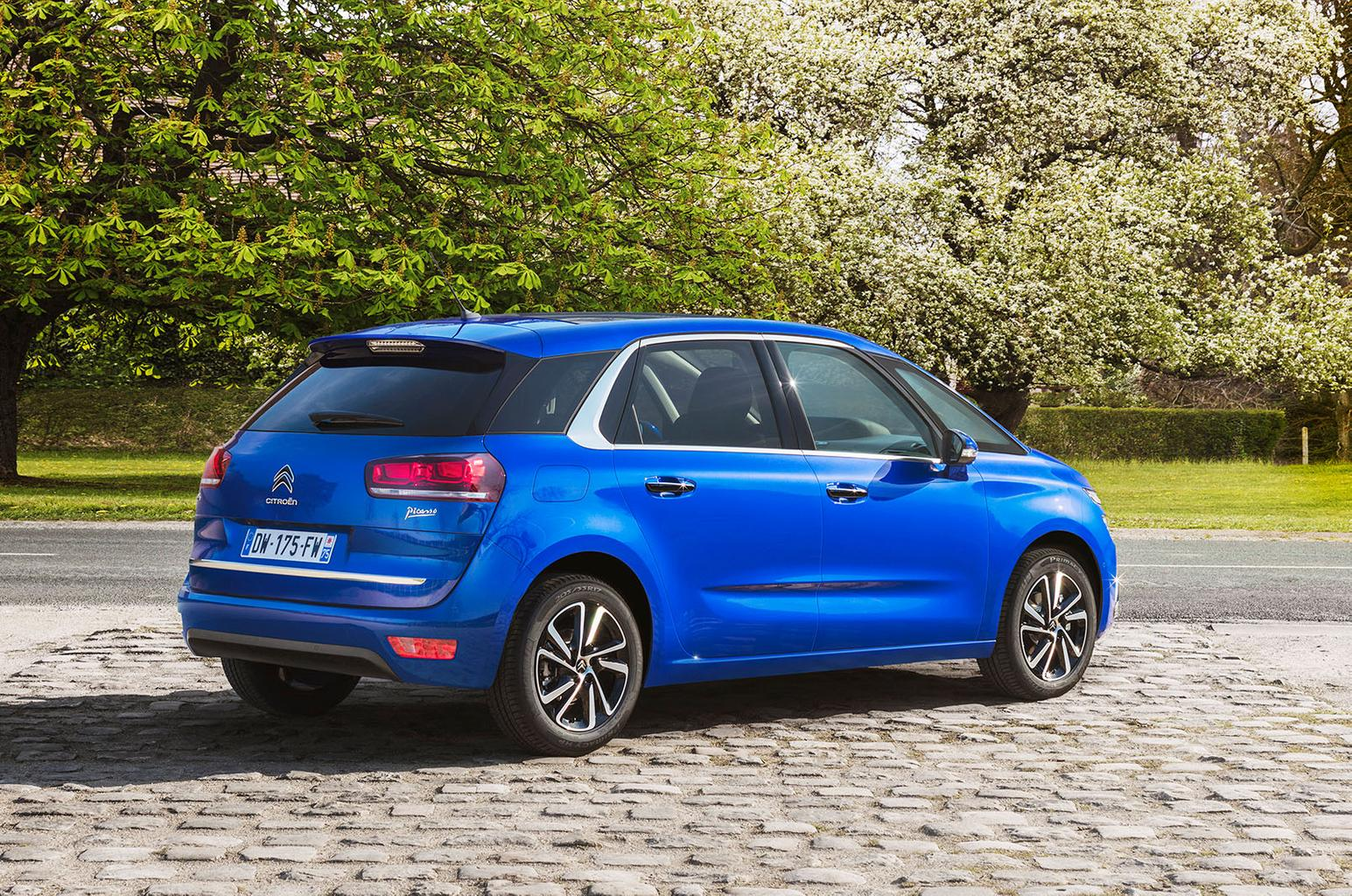 Facelifted Citroën C4 Picasso and Grand C4 Picasso to go on sale next month
