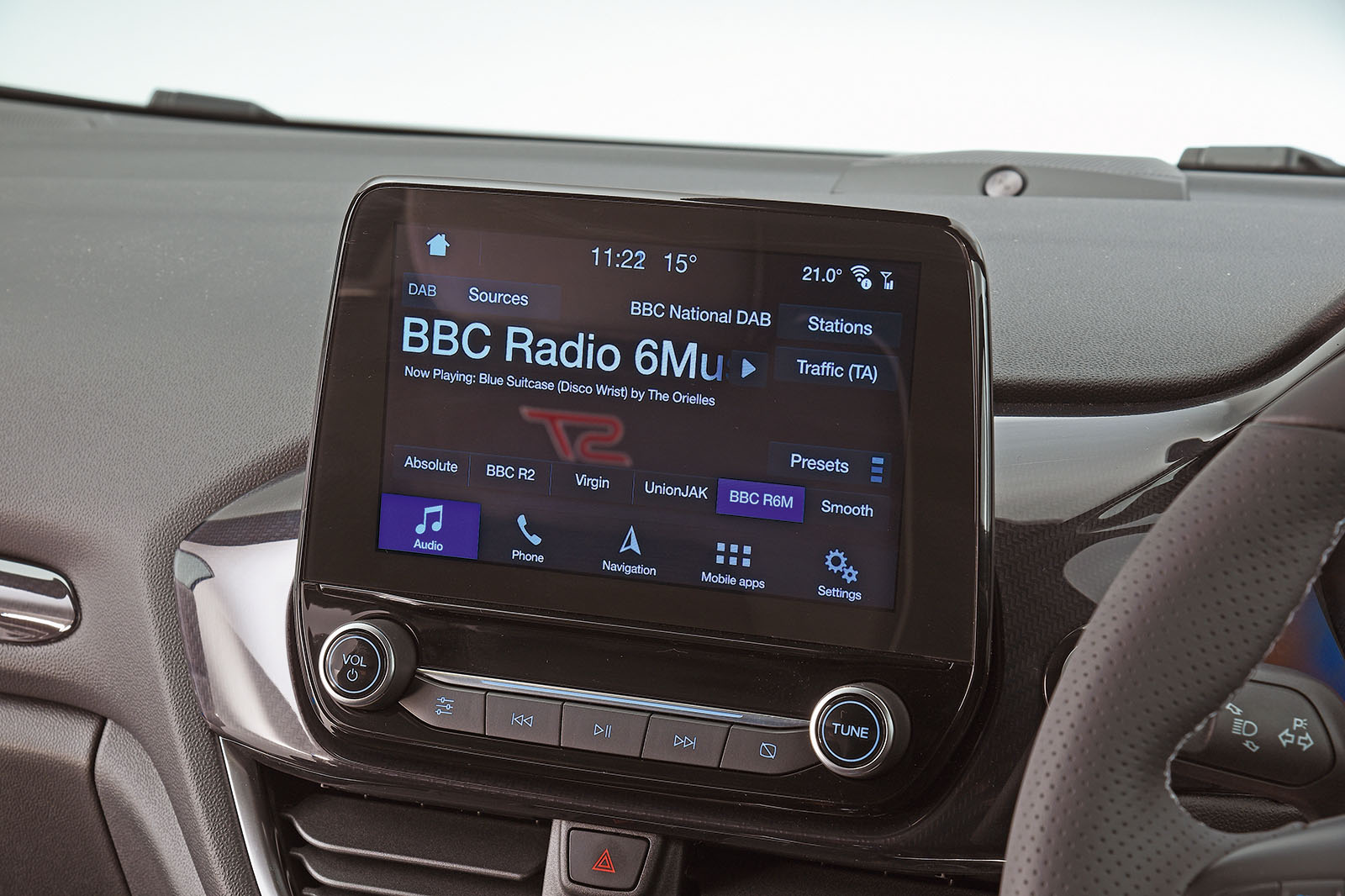 2018 Ford Fiesta ST infotainment