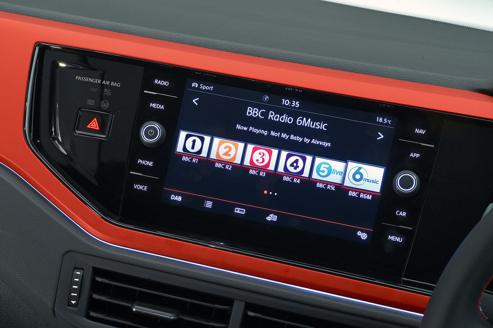 2018 Volkswagen Polo GTI infotainment