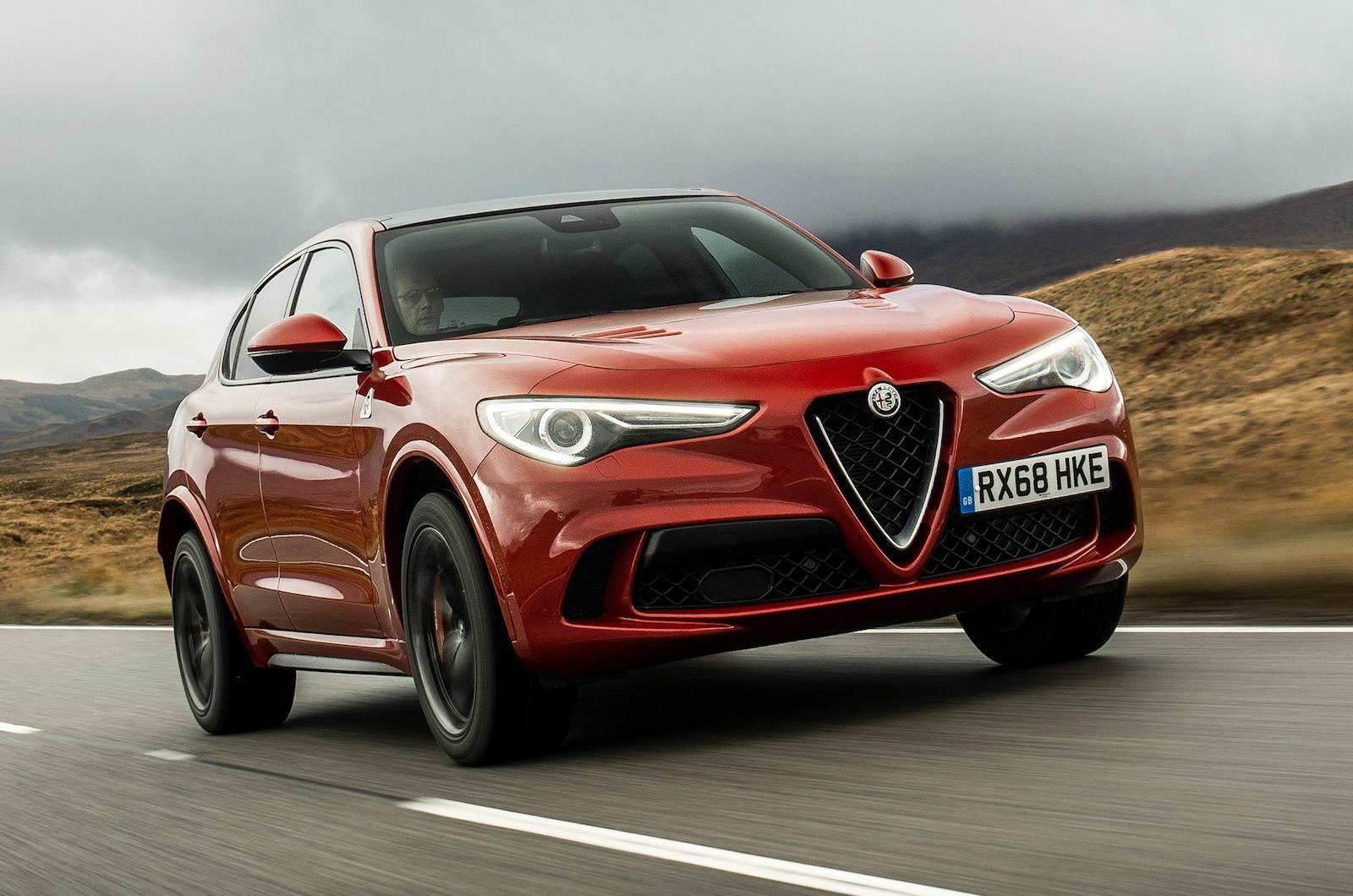 2019 Alfa Romeo Stelvio Quadrifoglio Review Price Specs And Rear End Quad Scotland