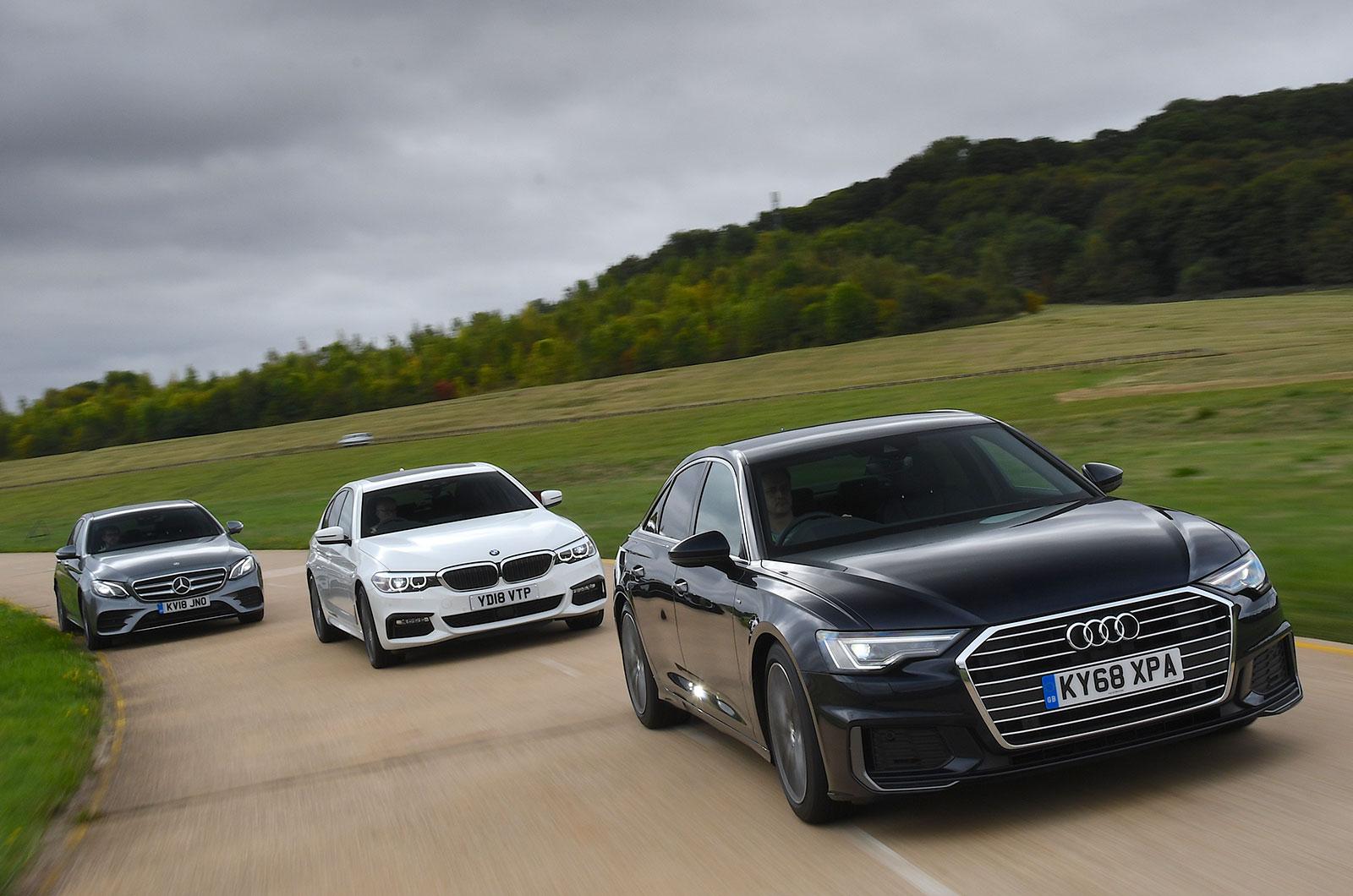 Audi A6 triple test