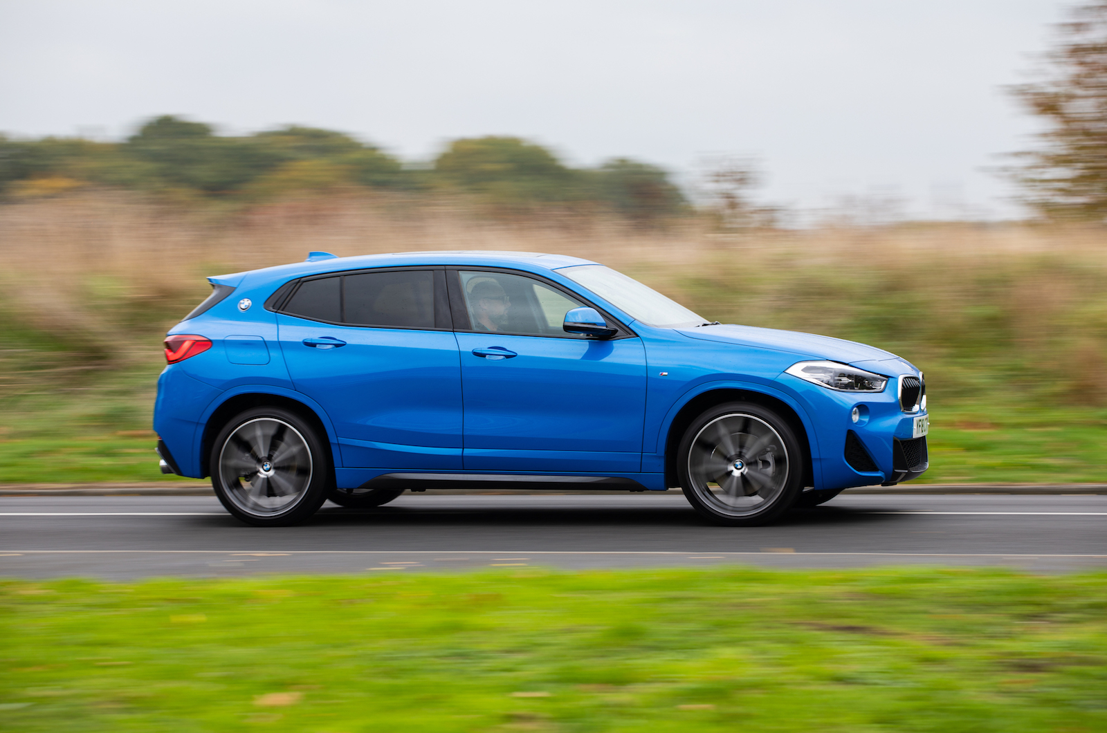 2018 BMW X2 20i M Sport on the road