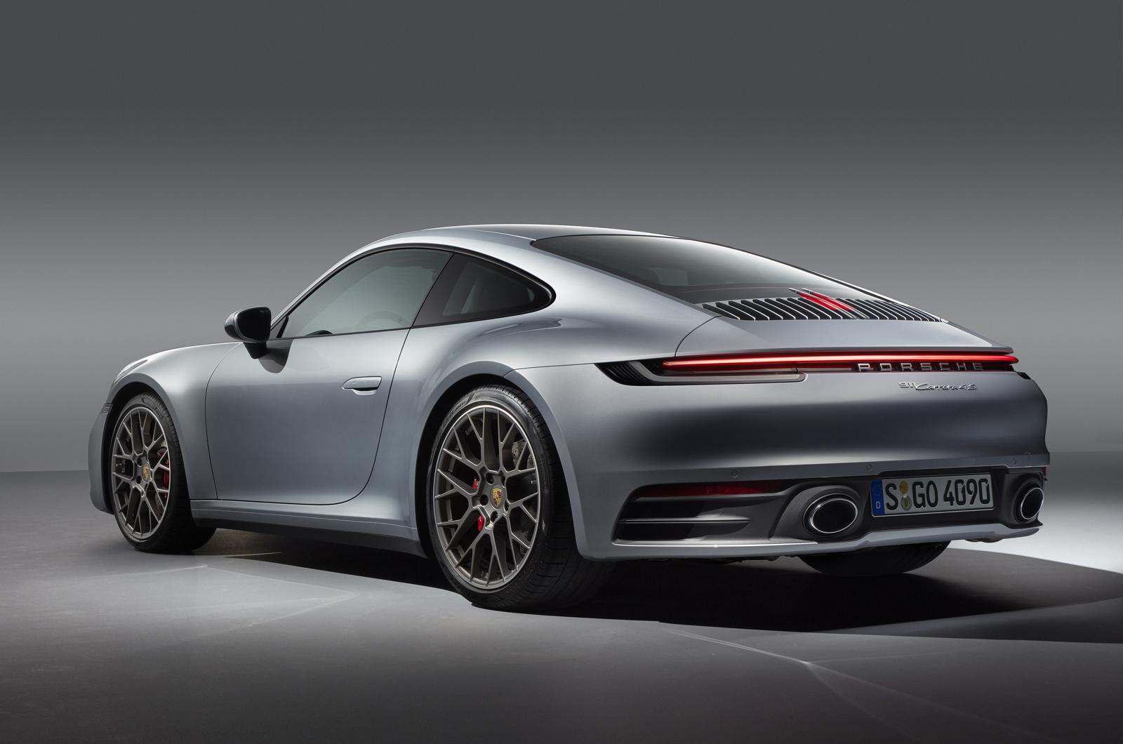 2019 Porsche 911 rear