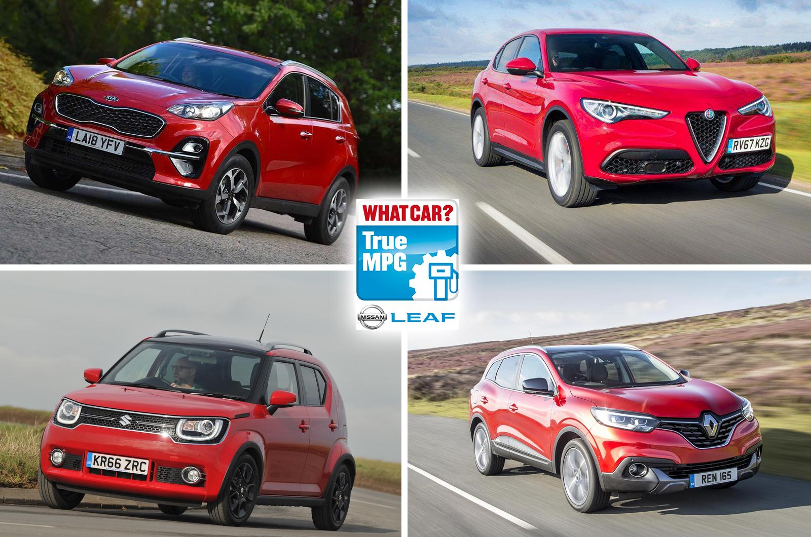 Alfa Romeo Stelvio, Suzuki Ignis, Renault Kadjar, Kia Sportage