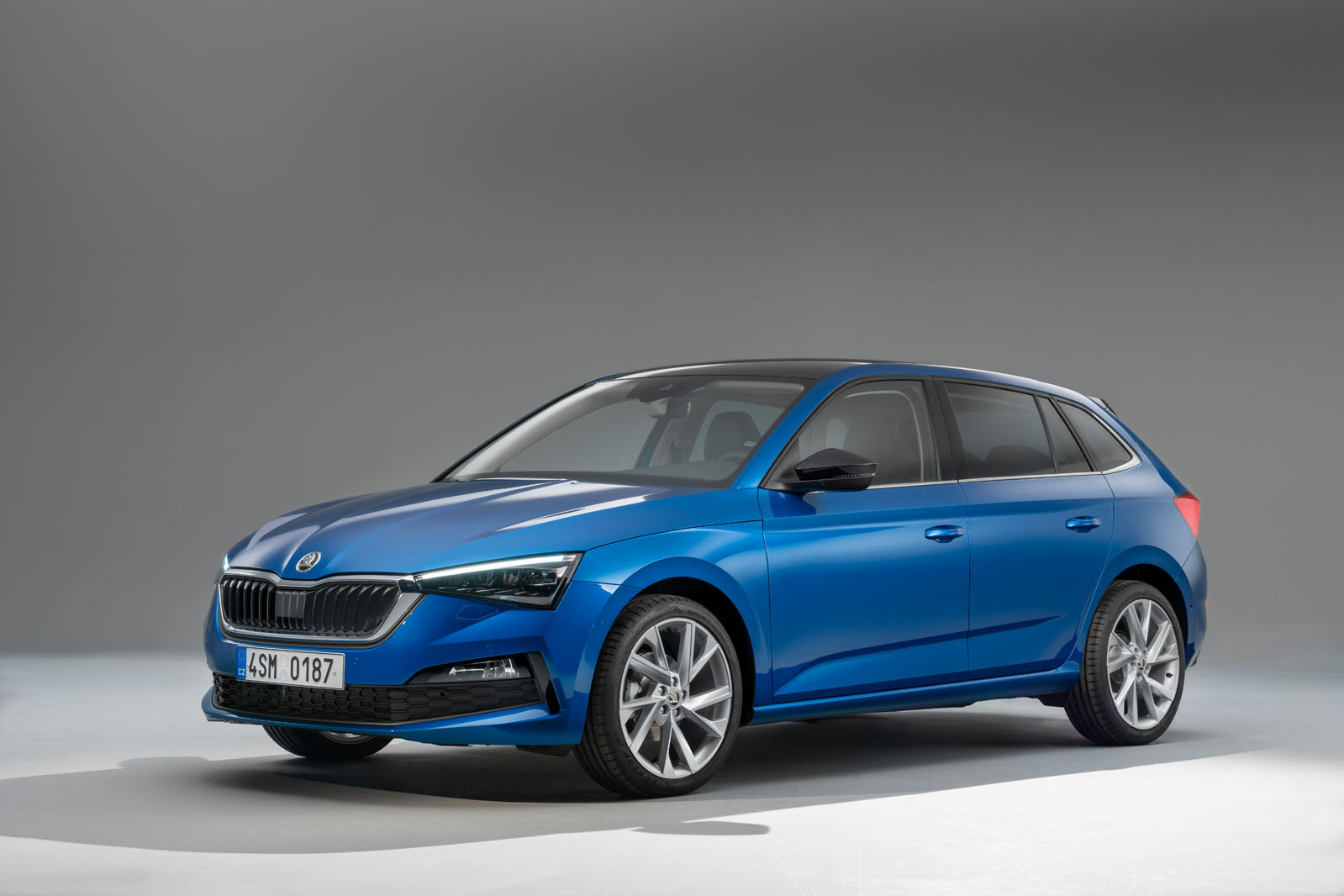 New Skoda Scala hatchback unveiled